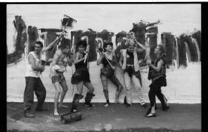 Performance Théatre Le Milieu 1987.Lancement Revue VILE