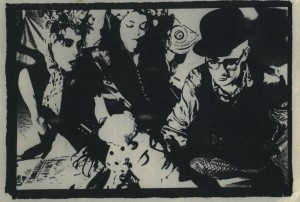 POIS Z'ONT ROUGES 1990 Zazalie Z.+Lucie Ouimet+Patricia Maurice+Luc Bonin