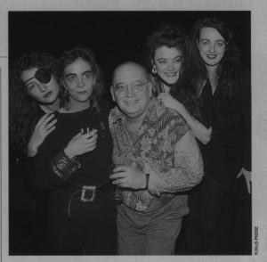 1993 PZR-Lancement de l'Album Hommage à Jacques Brel: Violaine Fillion +Zazalie Z.Jean Louis Millette+Lucie Ouimet+Patricia Maurice